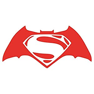 "Batman V Superman Decal / Sticker - Red 4"" at Gotham City Store"