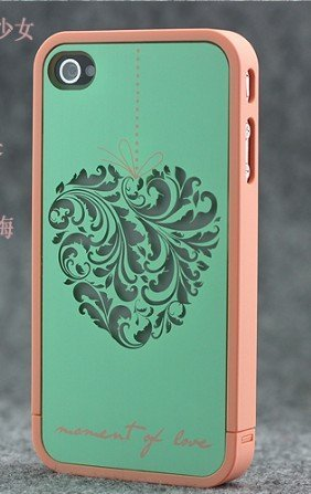 Disney Travel Travel Series of Case Iphone 4/4s Xmas Gift - Heart-shaped