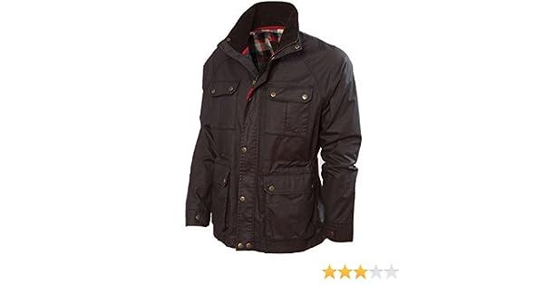 Vedoneire para Hombre Wax Jacket (3050), Color marrón Forro de Cuadros Cepillado: Amazon.es: Ropa y accesorios