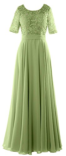 Evening Bride Sleeve Of Half Lace Dress Macloth Gown Formal The Clover Women Mother q8FwvnY1xt