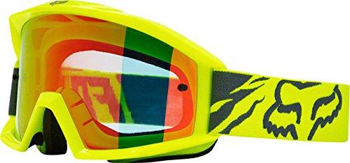 Fox Racing Main Race Adult Moto Motorcycle Goggles Eyewear - Yellow / No (Fox Racing Motorcycle)