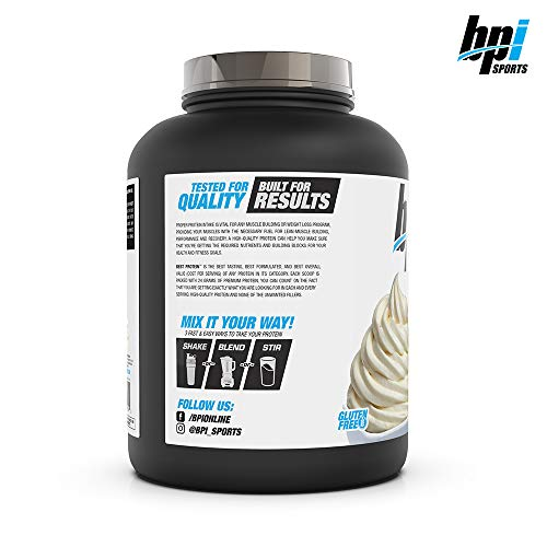 BPI Sports Best Protein - 100% Whey Protein Blend - Muscle ...