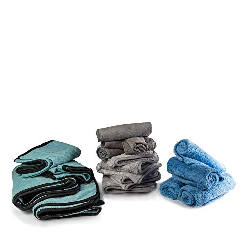 Towel Titan Microfiber Complete Bundle Kit - Microfiber Detailing Towels for Your Car, Boat, RV, Home, and More - Drying Towels, Utility Towels, Wax & Polishing Towels (Professional Bundle) by Towel Titan (Image #7)