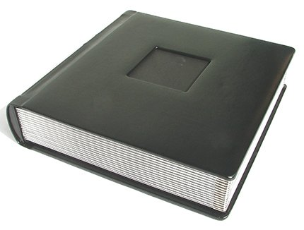 Professional 10x10 Black Silver Wedding Album 40 (Professional Album)
