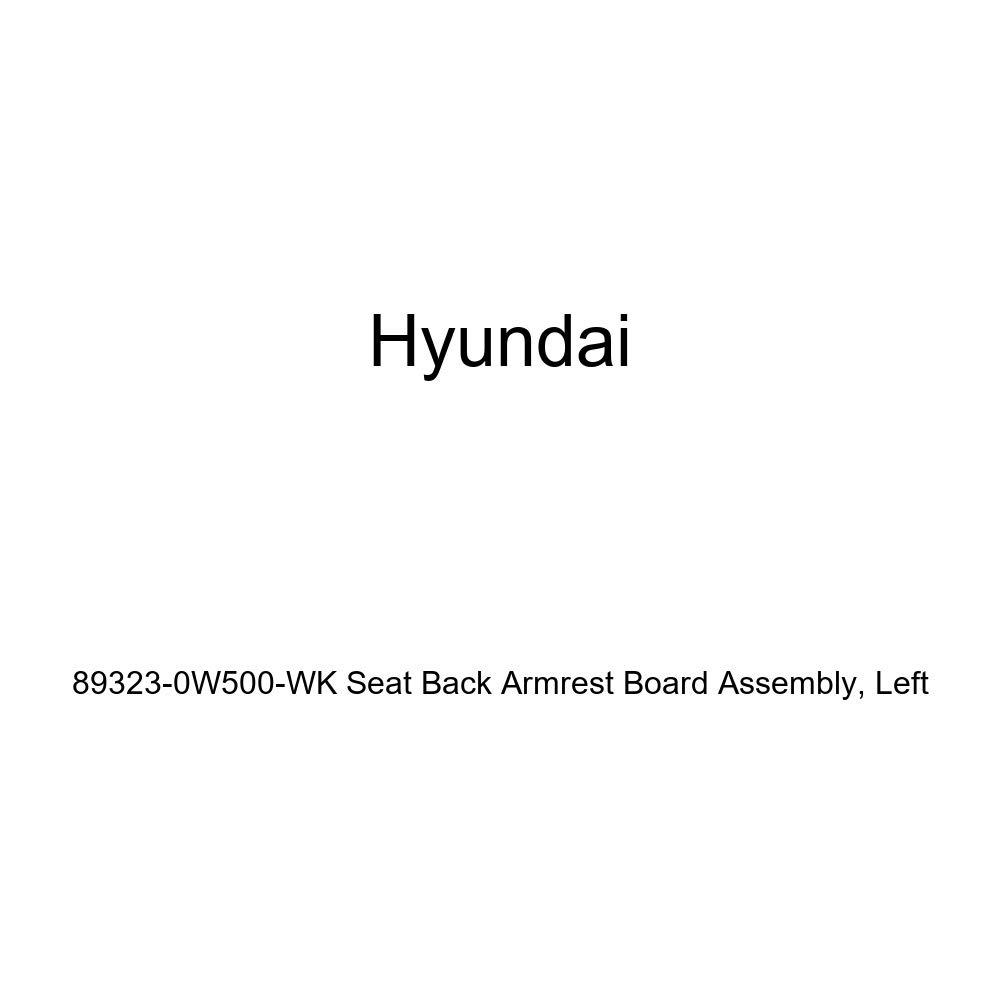 Left Genuine Hyundai 89323-0W500-WK Seat Back Armrest Board Assembly