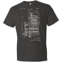 Ice Cream Cone Rolling Machine T-Shirt, Icecream, Shop, Gelato, Custard, Frozen Yogurt, Dairy, Gift, Patent, Vintage,