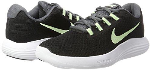 Pied Multicolor Nike Pour dark noir De Chaussures white Grey Course Barely Volt Lunarconverge Femme 6xXqBT