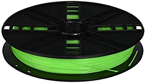 MakerBot PLA Filament, 1.75 mm Diameter, Large Spool, Neon Green