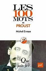 Les 100 mots de Proust