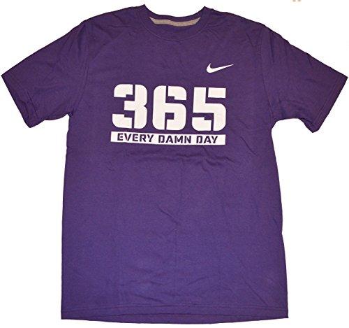 Nike Men's 365 Every Damn Day Graphic T Shirt Medium Purple