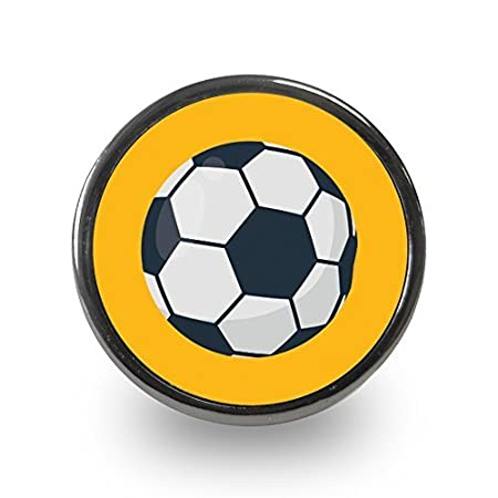 Sports Themed Cupboard Door Knobs (Football): Amazon.co.uk: Kitchen ...