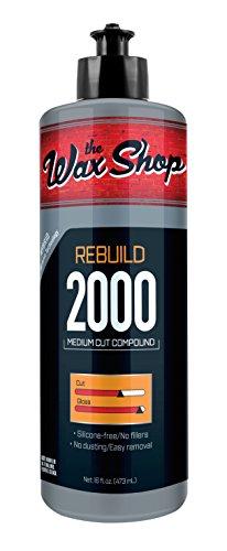 - the Wax Shop 50957 16 Ounces Rebuild Medium Cut Polishing Compound-16oz