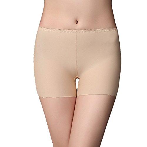 3050653497b44e Ultra-Thin Ice Silk Seamless Three-Point Ladies Leggings