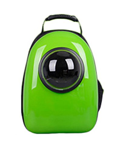 Uniquorn Portable Breathable Capsule Outdoor Travel Backpack Pet Cats Dogs Bag Suitcase green (Ez Life Outdoor Furniture Australia)
