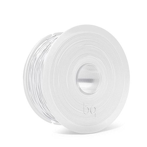 bq Easy Go - Branco puro, pantone white - 1 kg - filamento PLA (3D)