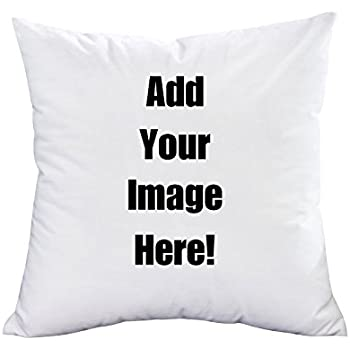 Personalised Custom Printed Square Cushion Cover Image Photo Text Design Gift
