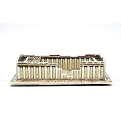 Mini 3D Puzzles Architecture Parthenon Temple Easy for Baby 3 Years and more Mini Size 2.9 x 1.5