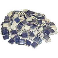 Mosaix 10x 10x 3mm 70g 150-piece cerámica vidriada