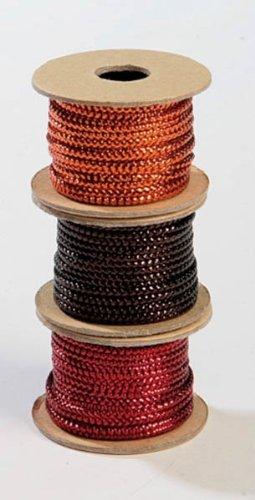 Artoz CREA Motions Bänder (Kordel glänzend), je eine Spule rot ...