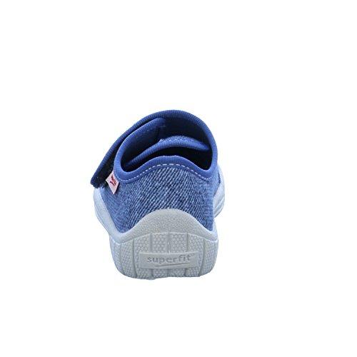 Superfit 7-00271-93 - - Zapatillas de estar por casa para niño Azul