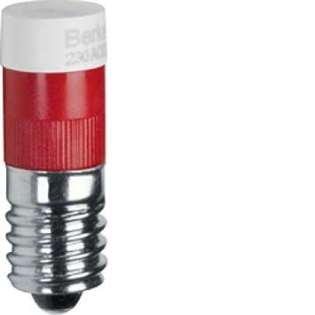 Led RougeBricolage V Lampe E10 Hager 230 UzqSpMVG
