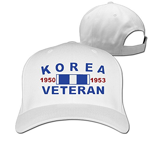 Korea War Veterans Classic Cotton Fitted Peak Cap - Mall Fashion Tampa