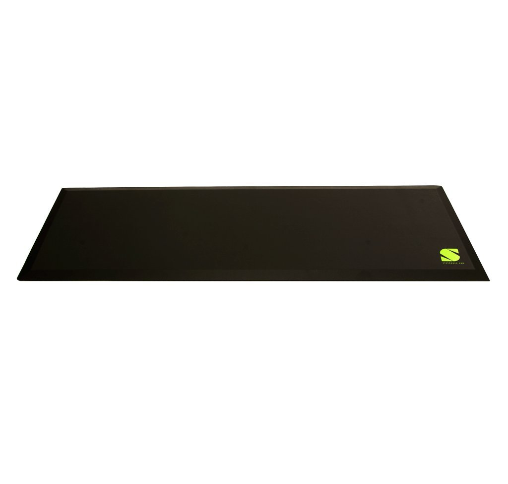 Standee Anti Fatigue Mat XL, 24 x 70 x 3/4 in., Black, Use for Standing Desk Mat, Behind Counter, Kitchen