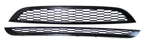 - 02 03 04 05 06 Mini Cooper Base and S JCW Style Mesh Sport Grille Kit Black