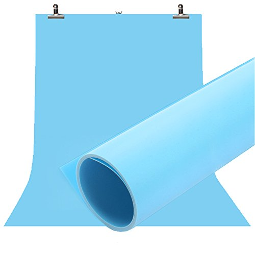 Selens 100X200CM 40X80INCH Photography Backdrop Matte PVC Background Blue
