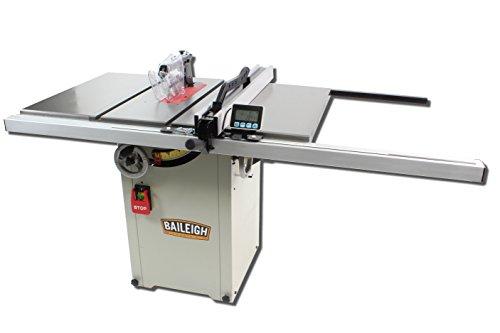 Baileigh TS-1044H Hybrid Style Table Saw, 110/220V,...
