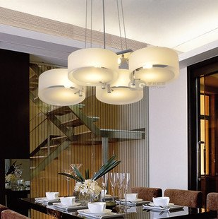 ANN Lights Contracted Italian Dining Room Acryl Chandelier Bedroom Lamp Pendant Chandeliers