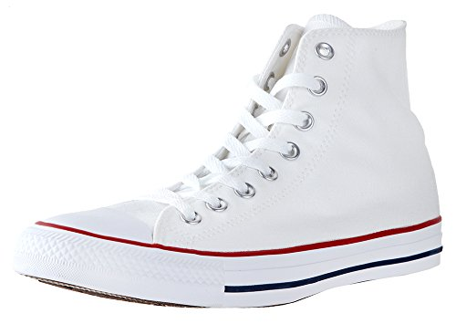- Mens Converse Chuck Taylor All Star High Top Sneakers (Optical White, 4.5 D(M) US)