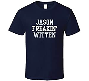 Jason Freakin' Witten Dallas Football Player Cool Fan T Shirt XL Navy
