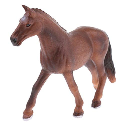 Perfk 子供 認知 教育おもちゃ リアル 模型 自然玩具 馬動物モデル フィギュアの商品画像
