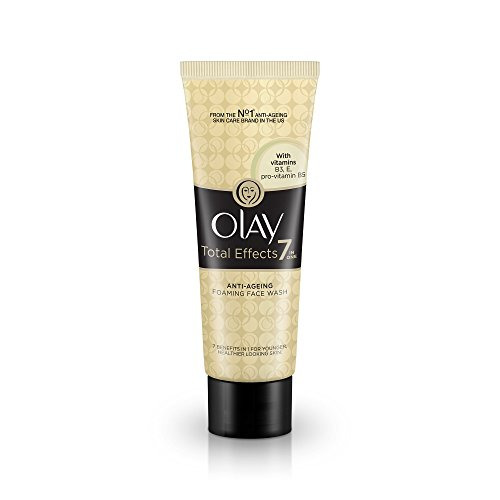 Olay Total Effects 7-In-1 Anti Aging Foaming Face Wash Cleanser, 100gm