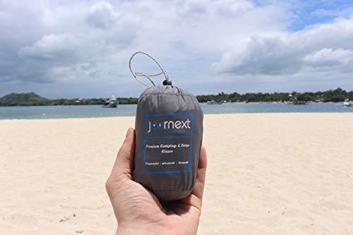 414hrd5DvTL Journext Aufblasbares Camping Kissen & Reisekissen - Weiche Oberfläche, Kompakt & Leicht - für Strand, Reise, Outdoor…