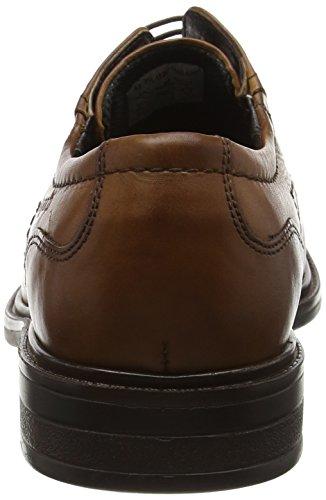 Bugatti 311152011100 - Zapatos de cordones derby Hombre Marrón (Cognac 6300)