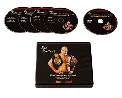 Bas Rutten Mma Workout Cd And Dvd by Bas Rutten
