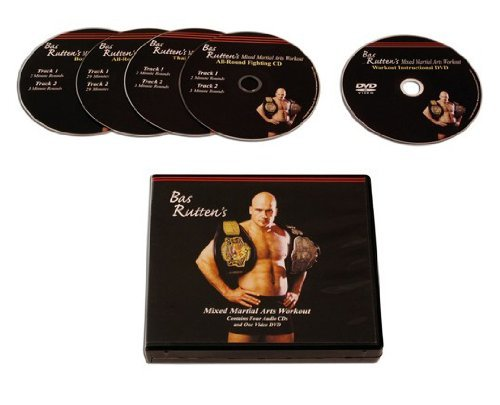 BAS-RUTTEN MMA Workout CD and DVD from Bas Rutten