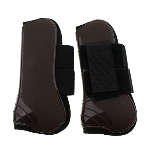 Avant Protection Chaussures Tendon De Ipotch Brun Jambe Jambes Unisexe Bottes Adulte aPZ0wqF