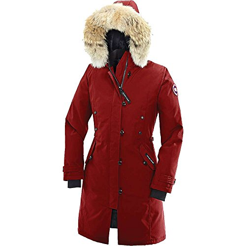Canada Goose Women's Kensington Parka,Red,Small
