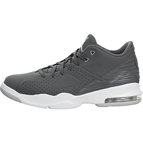 Nike Jordan 881472-004 : Men's Air Franchise Dark Grey/White Basketball Shoe (10 D(M) US Men) by NIKE