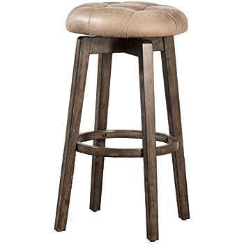 Amazon Com Hillsdale Furniture Tillman Backless Swivel