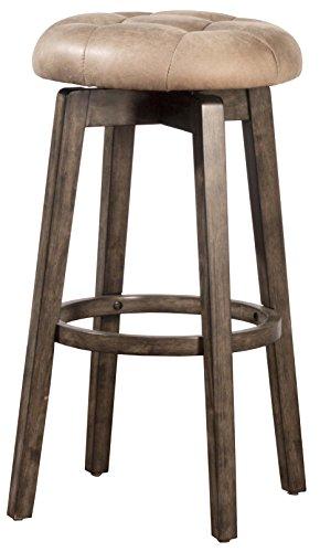 Hillsdale Furniture 4359-826 Odette Backless Swivel Counter Stool