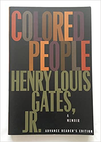 colored people a memoir henry louis jr gates 9780679739197 amazoncom books - Colored People Book