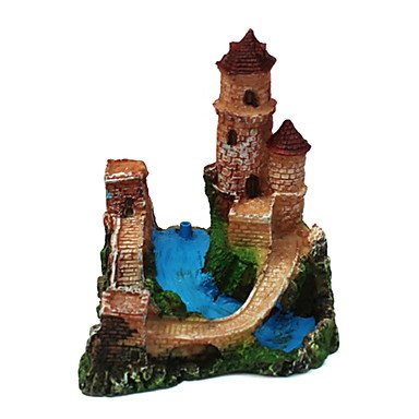Quick shopping Resin little castle towers for Ants