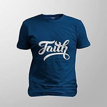 Antika Men T-Shirt Faith, Black, S
