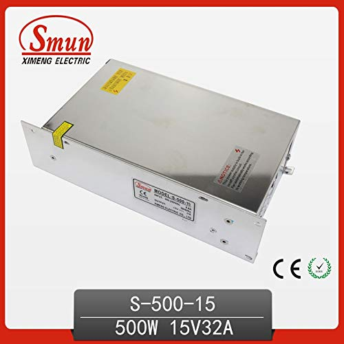 Utini S-500-15 500W 15V 32A Single Output Switching Power Supply with CE ROHS China Factory for Light