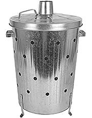 Pojemnik do spalania 75 l ocynkowany – palenisko paleniskowe palnik, piec tarasowy
