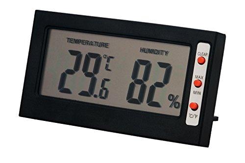 Leeko Digital Thermometer Humidity Monitor